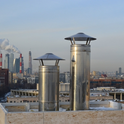 Промышленные дымоходы